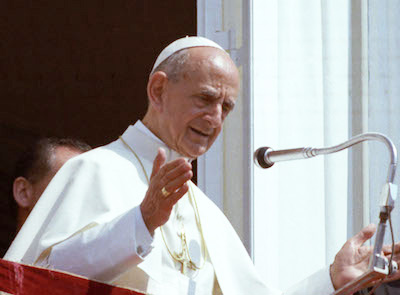 Pave Paul 6.'s saligkåring