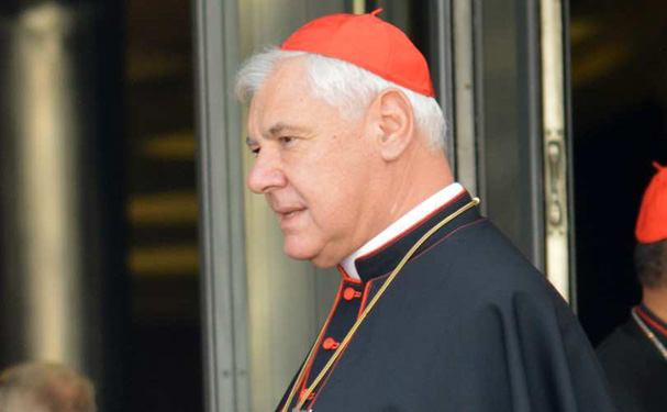 Kardinal Müller: Kardinal Marx' udtalelser er udtryk for en aldeles ukatolsk tankegang