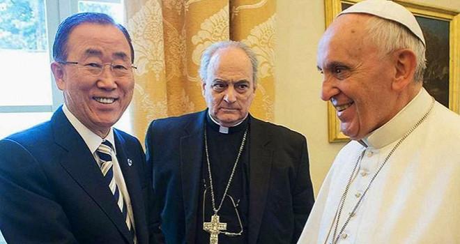 Paven og klimadebatten