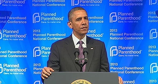 Obama vetoer Kongressens kompromisforslag om midlertidigt at fratage Planned Parenthood offentlig støtte