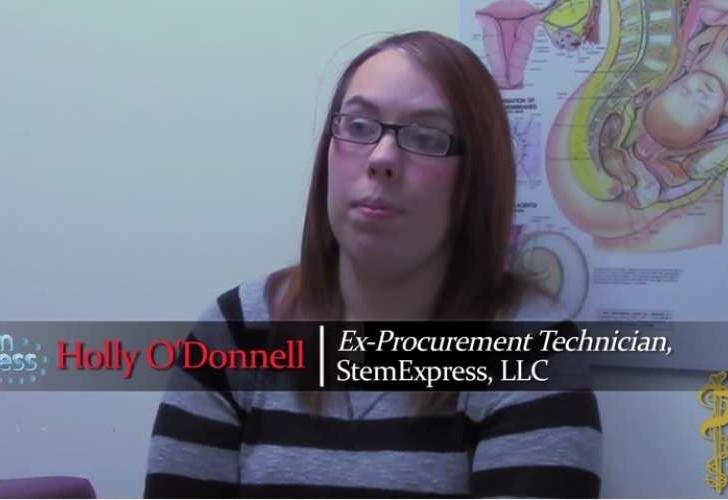 """Holly O'Donnell i ny video: """"Hun rakte mig en saks og bad mig trække barnets hjerne ud gennem ansigtet"""""""
