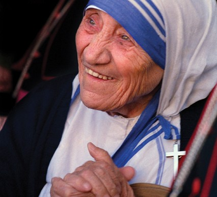 Moder Teresa helgenkåres i efteråret 2016