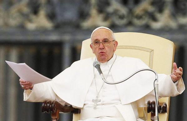 Et besynderligt paveligt udspil