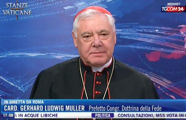 Kardinal Müller overrasker med en kovending i spørgsmålet om Amoris laetitia