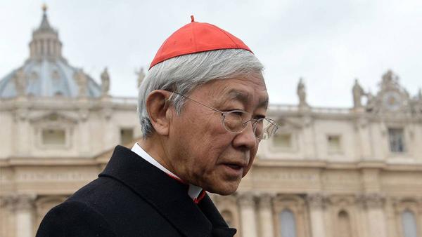 Kardinal Zen: Pave Frans opmuntrer til et skisma