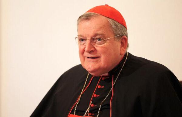 Kardinal Burke: Jorden er ikke vores mor. Vores mor er Jomfru Maria